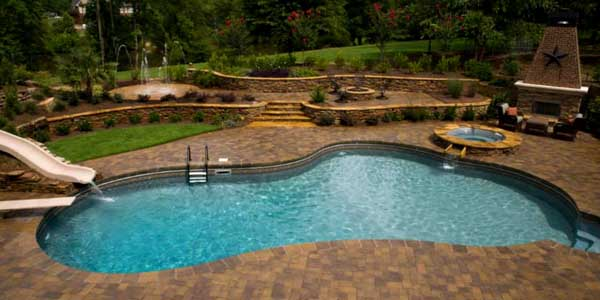 Custom Pool and Deck
